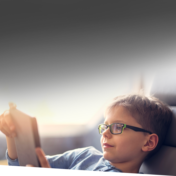 Image of child reading