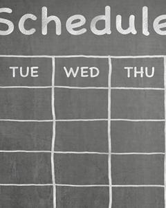 schedule thumb