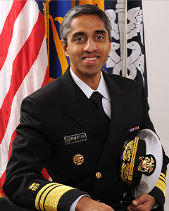 Discussion with Dr. Vivek Murthy: COVID-19's Impact on Health and Well-Being