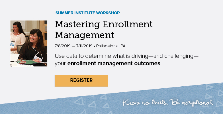 Mastering Enrollment Management