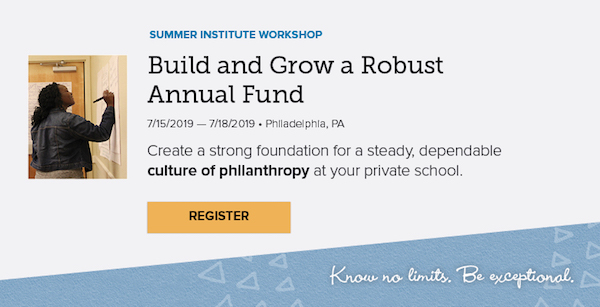 Build and Grow a Robust Annual Fund