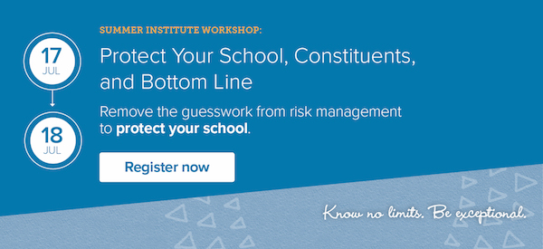 Protect Your School, Constituents, and Bottom Line