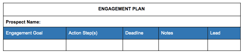 Engagement Plan